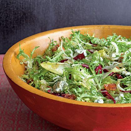 Frisée Salad with Maple-Bacon Vinaigrette