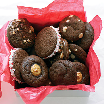 Hazelnut Nutella Sandwich Cookies