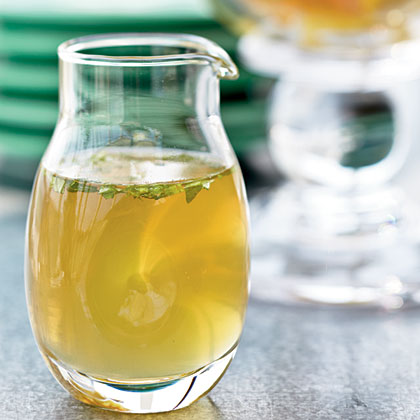 Honey-Mint Syrup Recipe