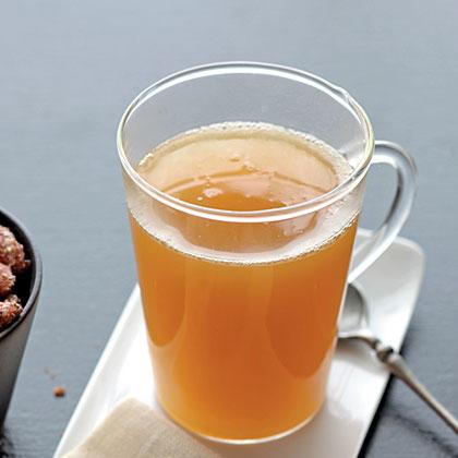 Applejack-Spiked Hot CiderRecipe