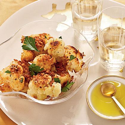 Israeli Cauliflower with Panko