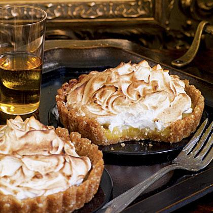 Lemon-Almond Tarts Recipe