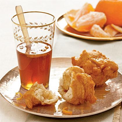 Loukoumades with Honey-Orange Sauce Recipe