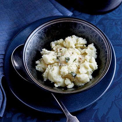Mashed Yukon Gold Potatoes with Horseradish Butter