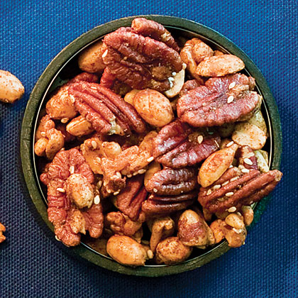 Spicy Sesame-Nut Mix Recipe