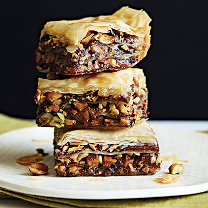 Chocolate Baklava Recipe