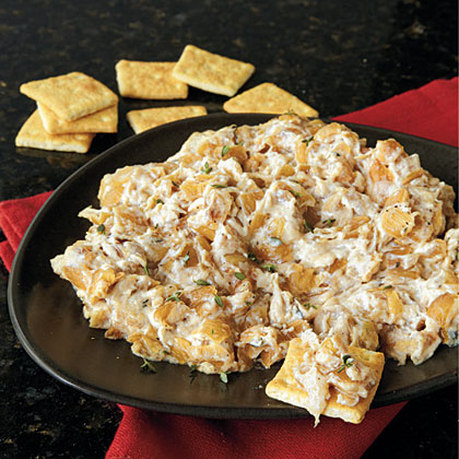 Warm Caramelized Onion Dip RecipeTake the indulgent flavor of caramelized onions one step further by whipping them into a gooey cream cheese-based dip served straight from a warm oven. Leftovers? Use them for panini or roasted meat sandwiches.