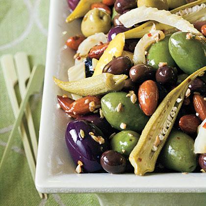 Warm Olive Sauté Recipe