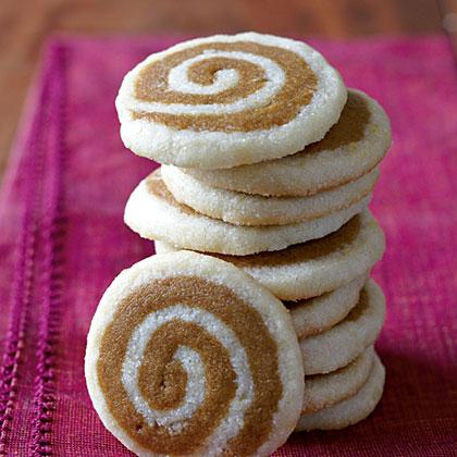 Ginger-Lemon Pinwheel Cookies