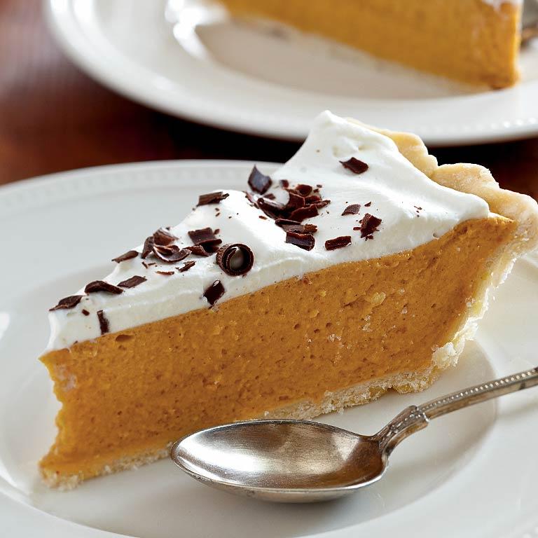 Spiced Pumpkin Chiffon Pie Recipe