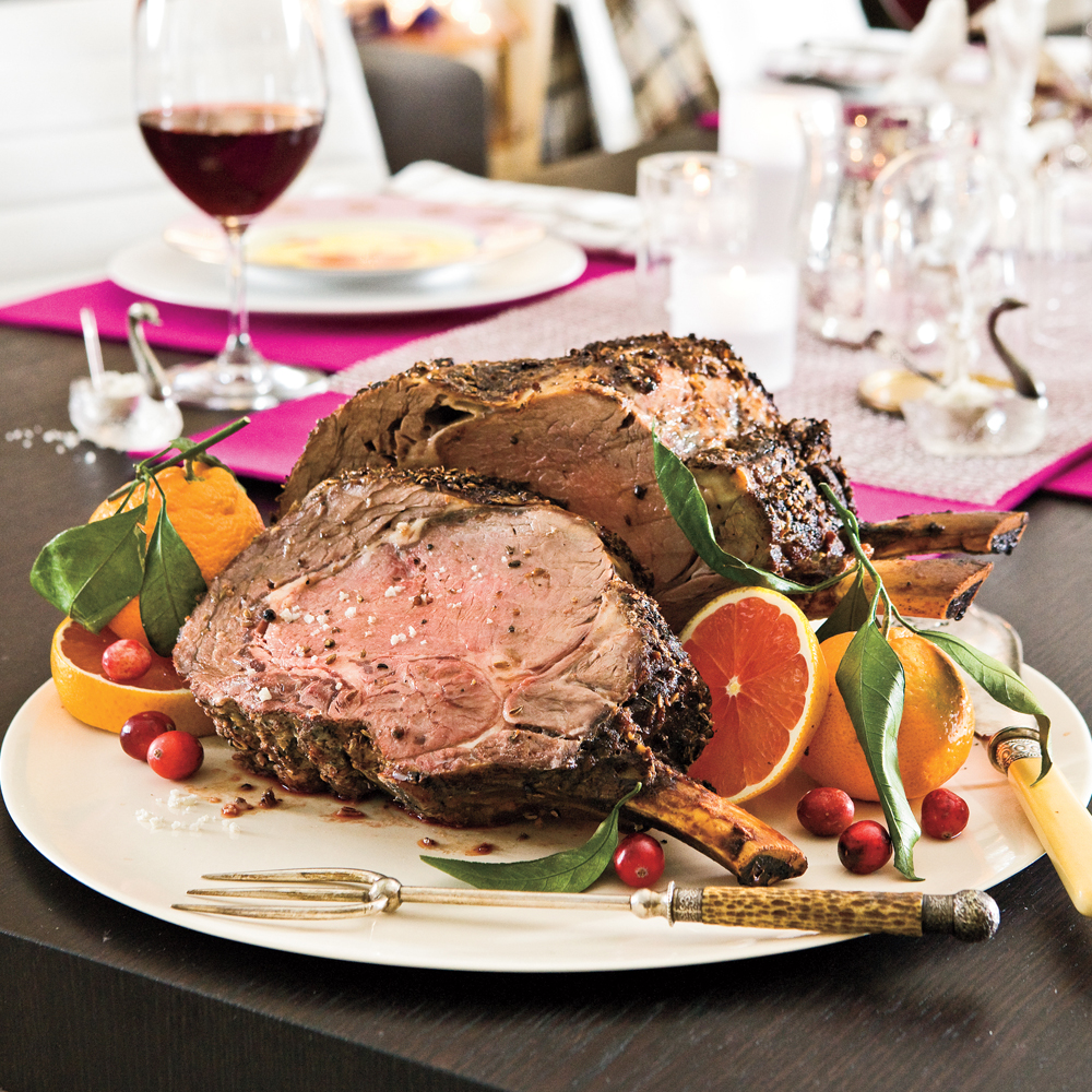 Fennel-Crusted Rib Roast Recipe