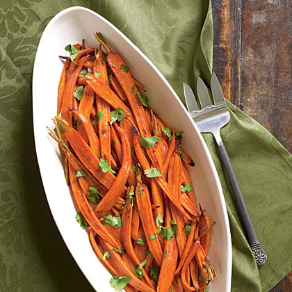 Carrots Roasted with Smoked Paprika