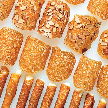 Honey Sesame Lace Crisps