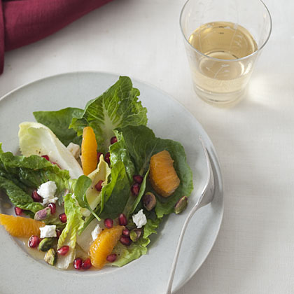 pomegranate-clementine-salad