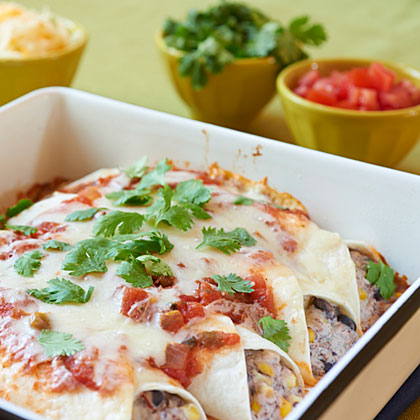<p>Black Bean Burrito Bake</p>