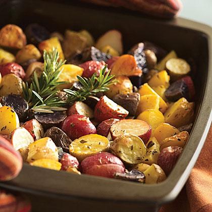 Roasted Potatoes with Rosemary Recipes