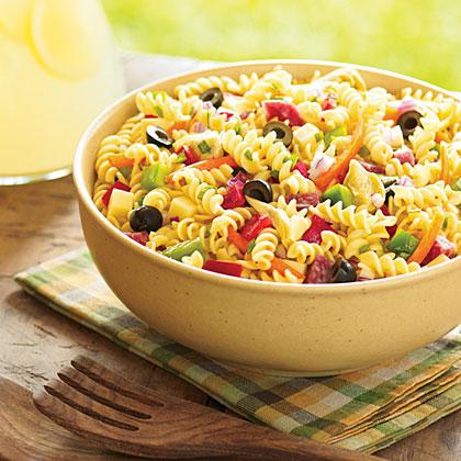 Classic Italian Pasta Salad Recipe 0 Myrecipes Com