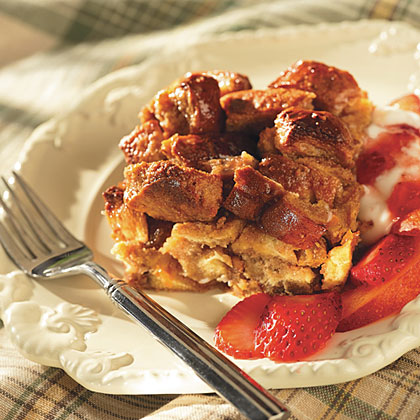 Peanut Butter Breakfast Bread Pudding Recipes