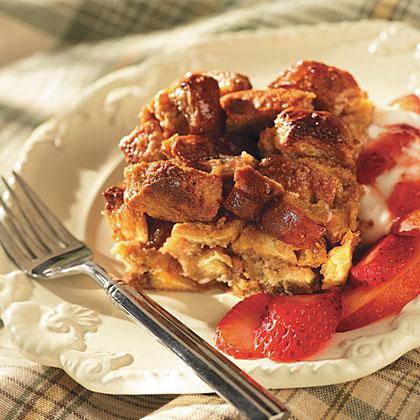 Peanut Butter Breakfast Bread Pudding RecipesRecipe