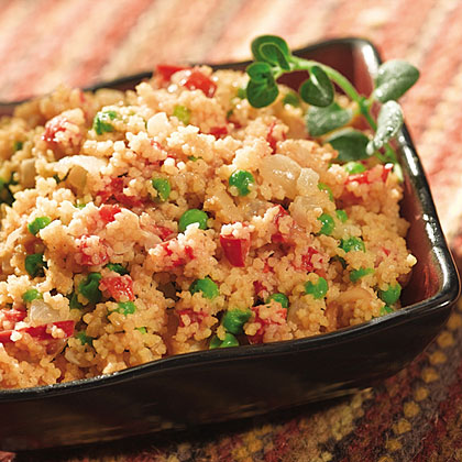 Moroccan Peanut Couscous with Peas Recipes