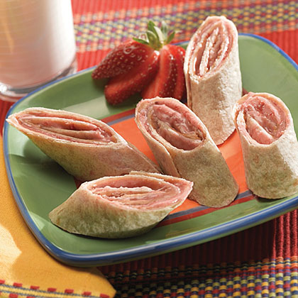 Peanut Butter and Jelly Roll-Ups Recipes