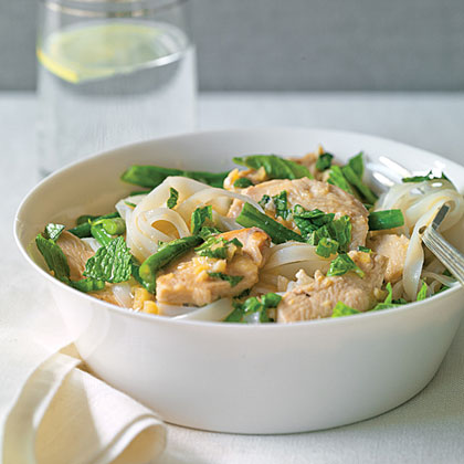 Southeast Asian Chicken and NoodlesRecipe