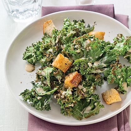Grilled Kale Caesar SaladRecipe