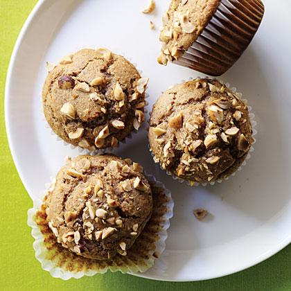 Hazelnut-Butter Muffins