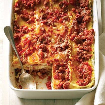 Lasagna with Sausage Ragu ReduxRecipe