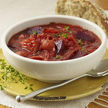 Confetti Pepperoni Soup