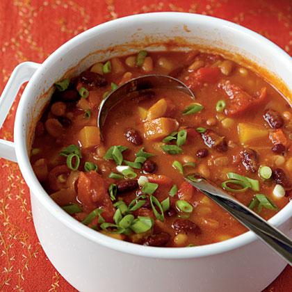 Three-Bean Vegetarian Chili