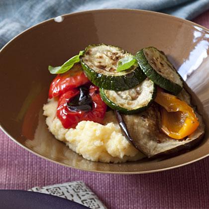 polenta-with-vegetables Recipe