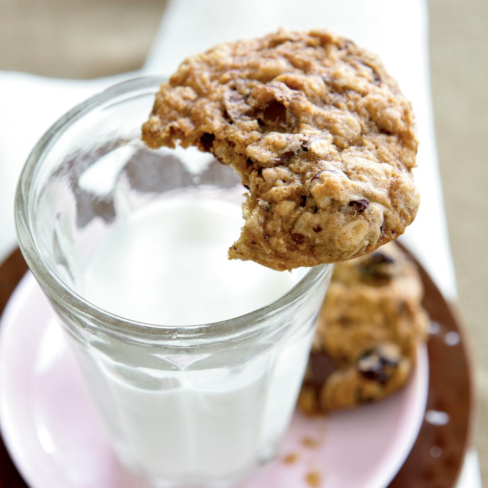 Chocolate-Cherry Heart Smart Cookies