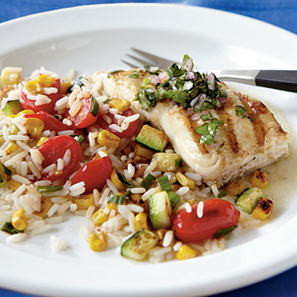 gwyneth paltrow s grilled halibut with mango avocado salsa grilled ...