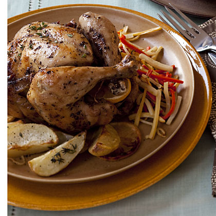 lemon-roasted-chickenRecipe