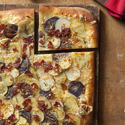 potato-bacon-pizza Recipe