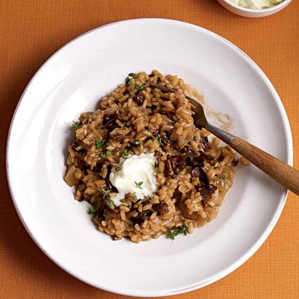 Risotto with Porcini Mushrooms and Mascarpone Recipe