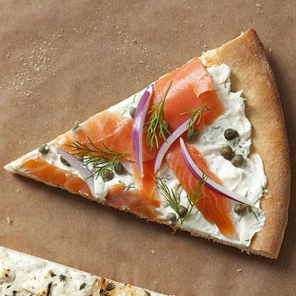 salmon-dill-pizza Recipe