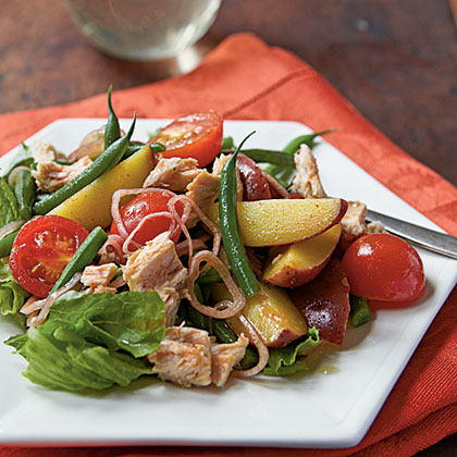 Spanish Style spanish-style tuna and potato salad recipe | myrecipes