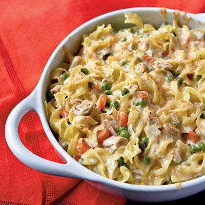 <p>Tuna Noodle Casserole</p>