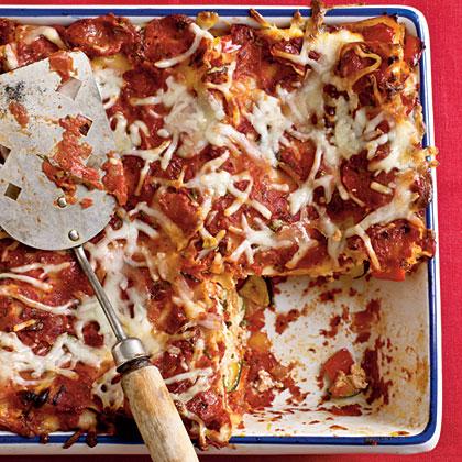 Baked Vegetable LasagnaRecipe