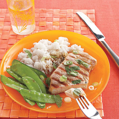 Soy-Marinated Pork Chops