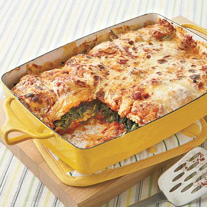 Weeknight Ravioli Lasagna Recipe