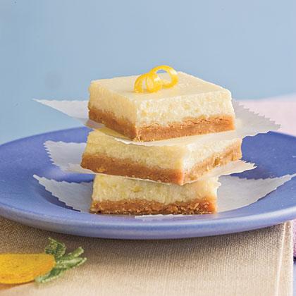 Lemon-Cheesecake Bars
