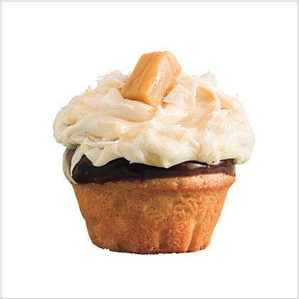 Salted Caramel-Chocolate Cupcakes