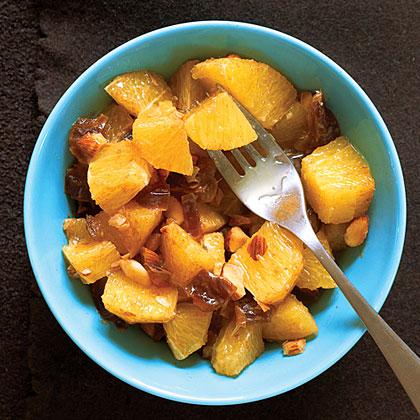 Spiced Orange and Date Salad Recipe