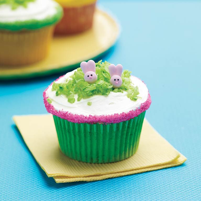 Sweet Li'l Bunny Cupcakes RecipePerfect for Easter or a spring-themed birthday party for a bunny lover, these cupcakes are (almost!) too cute to eat. Look for bunny candies in kitchen stores or by special order.