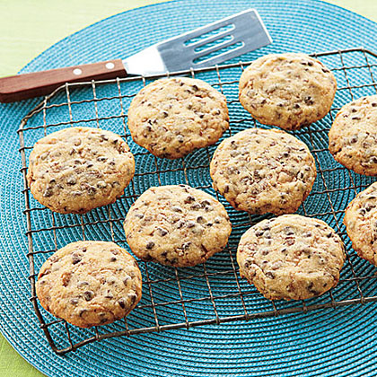 Toffee-Chocolate Chip Shortbread RecipeJazz up traditional shortbread with luscious bits of chocolate and salty toffee.