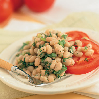 Lemon-Dill White Bean Salad Recipe