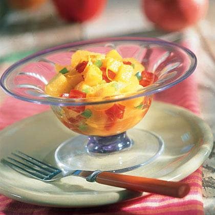 Pineapple-Mango SaladRecipe